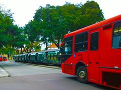 Ônibus Expresso Biarticulado Vermelho na Estação Tubo - Curitiba - Paraná (Eduardo PA) Tags: windows paraná nokia phone na vermelho curitiba microsoft expresso wp 1020 ônibus tubo estação lumia biarticulado pureview
