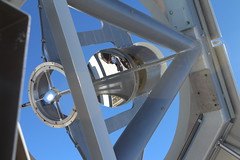 """Solar Telescope with tweeps in the optics <a style=""""margin-left:10px; font-size:0.8em;"""" href=""""http://www.flickr.com/photos/56791810@N02/15490074046/"""" target=""""_blank"""">@flickr</a>"""