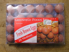 O'Dwyers Greenfield Foods Ltd 24 Medium Fresh Brown Eggs 3.99 04102014 17-09-2014 -Box Tray top (Lord Inquisitor) Tags: brown foods fresh eggs medium greenfield hen eggcarton eggbox eggtray odwyers heneggs 04102014