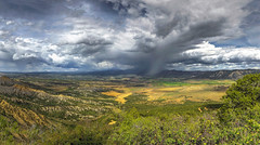A storm is approaching (Fil.ippo (AWAY)) Tags: panorama storm nature landscape colorado sigma mesaverde montezuma photomerge 1020 hdr filippo nesaverdenationalpark d7000 filippobianchi