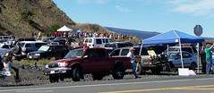 TMT ceremony at Pu'u Huluhulu (Occupy Hilo) Tags: hawaii ceremony telescope hawaiian meter mauna kea thirty tmt wakea buildingtmt
