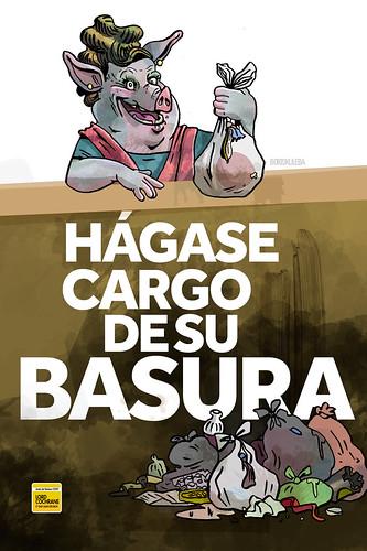 """Carteles, campaña de aseo para la Junta de Vecinos 69, Lord Cochrane, Valparaíso. • <a style=""""font-size:0.8em;"""" href=""""http://www.flickr.com/photos/8565265@N03/15524234068/"""" target=""""_blank"""">View on Flickr</a>"""