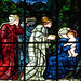 Winchester Cathedral, Burne-Jones, Adoration of the Magi