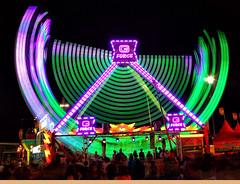 G Force Ride at Night 2014 Arizona State Fair (gbrummett) Tags: arizona colors fun amazing cool state fairs az fair stunning 2014 img3414 canonef2470mmf28lusmzoomlens canoneos5dmarkiicamera grantbrummett