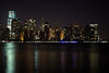 Lower Manhattan before dawn (Lojones13) Tags: city newyork night canon lights manhattan hudsonriver lower predawn eoskissx3