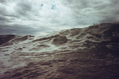 (.ultraviolett) Tags: sea green clouds waves wave darksea