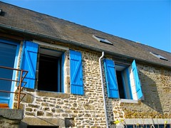 Normandy, France (spideysmom1) Tags: windows france farmhouse shutters normandie renovation normandy