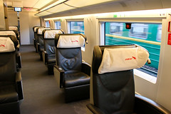 Car of Sapsan train first class (inchiki tour) Tags: travel car train photo europe russia  firstclass  seets     sapsan