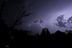 Gewitter über Waldshut