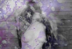 Undoing #2 (grazix) Tags: brazil portrait woman selfportrait art female self canon dark nude photography cross emotion artistic cruz mysterious transition artistico undoing t2i artisawoman