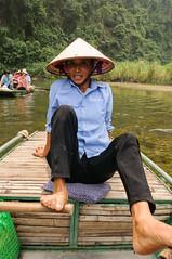 Trang An (jacobotten64) Tags: vakantie vietnam roeien rivier ninhbinh roeiboot trangan