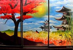 (cuentos chinos para cielos lluviosos) (Felipe Smides) Tags: mural pintura valdivia muralismo smides felipesmides