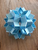 Snapology Dodecahedron With Stars(2 Fold)