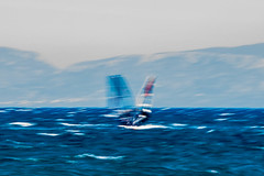 Windsurfers, Greece (stephen.horsted) Tags: ocean old travel blue sea summer vacation sky people sun holiday seascape motion tourism nature wet water sport stone danger speed landscape fun greek coast seaside athletic healthy ancient freestyle europe mediterranean surf waves power view place dynamic wind action outdoor surfer board air extreme scenic lifestyle wave surfing spray historic adventure greece surfboard sail destination windsurfing leisure recreation watersports activity splash enjoyment boarding pursuit windsurfer wetsuit active fearless windsurf exhilarating exhilaration peloponnese exhilarate