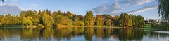 Parcul_Tineretului_Lac_Toamna (P4N41T) Tags: autumn panorama lake bucharest tineretului