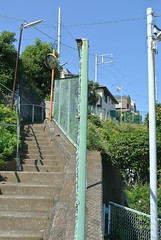 yokohama1232 (tanayan) Tags: road street urban japan stairs town alley nikon cityscape  yokohama kanagawa  slope j1