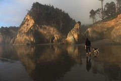 Oregon Coast: Sunset at Hug Point (eliduke) Tags: oregon sam gem hugpoint