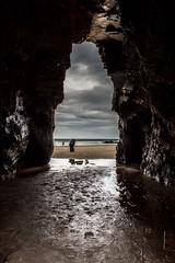 IMG_3116 (Israel Carren) Tags: espaa playa galicia cueva ascatedrais