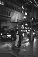 we're all strangers (danielkimkim) Tags: california street urban blackandwhite bw la losangeles nikon streetphotography dtla vsco vscocam