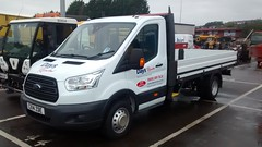 New Ford Transit Tipper (5asideHero) Tags: new ford tipper days transit