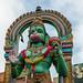Hanuman (Hindu Monkey God).close-up