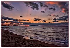 Trapani  tramonto sony HDR (Schano) Tags: sunset panorama landscape italia tramonto nuvole mare sony hdr sicilia paesaggio trapani ilce3000 sonyilce3000