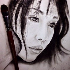Repost from @akira_art_style #戸田恵梨香 #draw #art #illustration #picture #sketch #a_d_g #portrait #followme #worldofpencils #featuring_art #cute #instagood #girl #artist_features #artist_4_shoutout #help_4_artists #model #acteess #kawaii #ladyterezie #boucha
