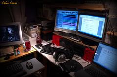 310/365 - MISTY MOUNTAIN (BABAYAGA321) Tags: studio lyrics computers photoaday headphones monitors sonar daw thorin thehobbit neilfinn mistymountain project365 richardarmitage shloer oakenshield songofthemistymountain