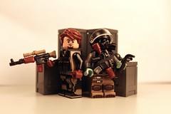 Urban Mercenaries ([C]oolcustomguy) Tags: brick arms lego military minifig citizen brickarms tinytactical eclipsegrafx