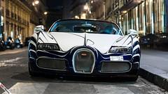 Bugatti Veyron 16.4 L'Or Blanc (SuperCarsandSounds) Tags: blue white paris cars car photography store dubai uae automotive 164 wallpapers lor bugatti blanc sounds app qatar supercars veyron iphone reving