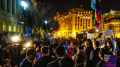 2017.02.22 ProtectTransKids Protest, Washington, DC USA 01125