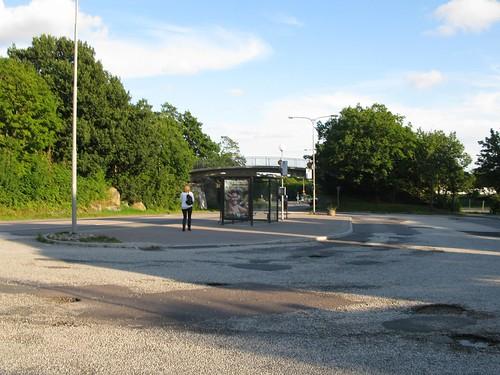 Bus stop _ busshållplats Torslanda Torg 2011(1)