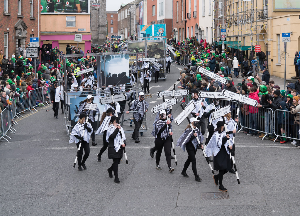DUBLIN INSTITUTE OF TECHNOLOGY [PATRICKS DAY PARADE IN DUBLIN 2017]-126058