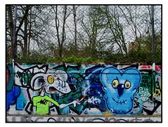 STREET ART by RATINHO & MOWSCODELICO (StockCarPete) Tags: ratinho mowscodelico graffiti streetart londonstreetart spraycanart aerosolart