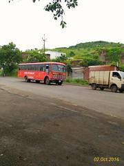 "Sangli - Pune - Nashik ""Islampur Depot Sangli Division"". (kunaltendulkar96) Tags: msrtc parivartan islampur"