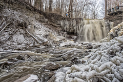 Great Falls (Metro Tiff) Tags: greatfalls waterdown ontario canada waterfalls cascade stream winter flow watershed biosphere niagara escarpment