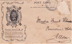 Mapoon Mission Series postcard - Paddling Their Own Canoe - 1904 - reverse (Aussie~mobs) Tags: aborigine mapoon mission northqueensland australia 1904 postcard canoe paddling presbyterianchurch gulfofcarpentaria