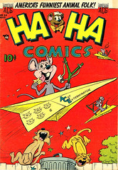 Ha Ha 94 (Michael Vance1) Tags: art adventure artist anthology comics comicbooks cartoonist funnyanimals fantasy funny horror goldenage