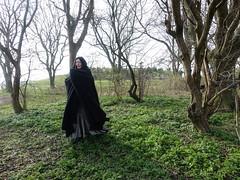 (Ghita Katz Olsen) Tags: roleplay trees scary woman