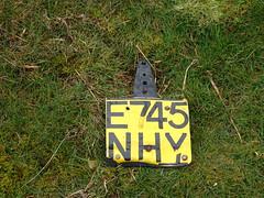 Vehicle Registration Plate, Henllys Mountsin, Cwmbran 4 April 2017 (Cold War Warrior) Tags: registrationplate numberplate henllys cwmbran offroading