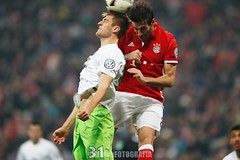 Bayern Munchen vs Wolfsburg (Kwmrm93) Tags: fodbal voetbal 足球 ποδ σφαιρο футбол サッカー フットボール votebol sports sport soccer nogomet jalkapallo futbol futebol fodbold football fotbal fotball fotboll fusball fussball esport deportivo canon deportiva calcio fudbal dfbpokal javimartinez bayernmunchen wolfsburg allianzarena action