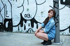 Yibi0038 (Mike (JPG直出~ 這就是我的忍道XD)) Tags: yibi 西門町 d300 model beauty 外拍 portrait 2013 fifi