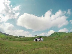 Unexpected (jeraldoptina) Tags: unexpected pleople friends clouds view blue amazing