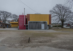 Schoolyard (AstridWestvang) Tags: building larvik trees school architecture