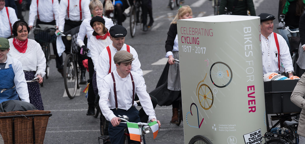 DUBLIN CYCLING  CAMPAIGN [ ST PATRICKS DAY PARADE 2017]-125823