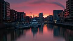 Hamburg Docklands (Andrew G Robertson) Tags: hafencity hamburg sunrise canon 5d mkiv mk4 sunset elbe speicherstadt