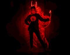 Cute little devil.👿😈👿 (Nikolas Fotos) Tags: lightpainting lightart longexposure lihgt llightpainting longexposurephoto lichtmalerei lightpaintingphotography lichtkunst light nightshot nightphoto nightphotography night devil lightdrawing