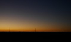 MUSKetiers. (Warmoezenier) Tags: 3 lantaarnpaal musketiers sunset yerseke zeeland zonsopkomst