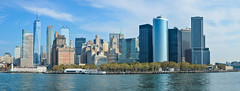 ... big apple ... (wolli s) Tags: flickr ny nyc newyork skyline us usa worldtradecenter blue panorama nikon d7100 stitched