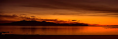 The First Star I See Tonight (Brian Travelling) Tags: sunset ayrshire scotland water firthofclyde star pentax arran isleofarran silhouette